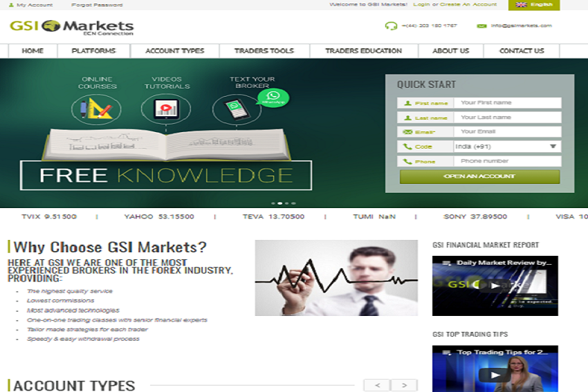 Gsi Markets