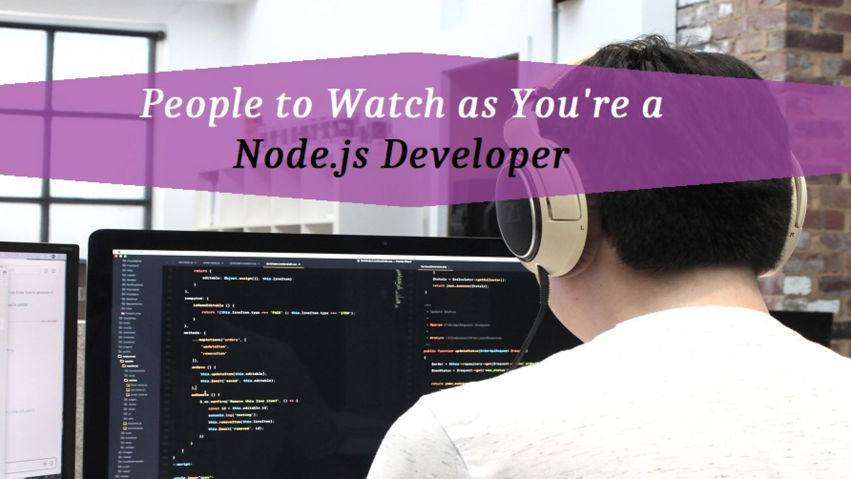 People to Watch as You're a Node.js Developer
