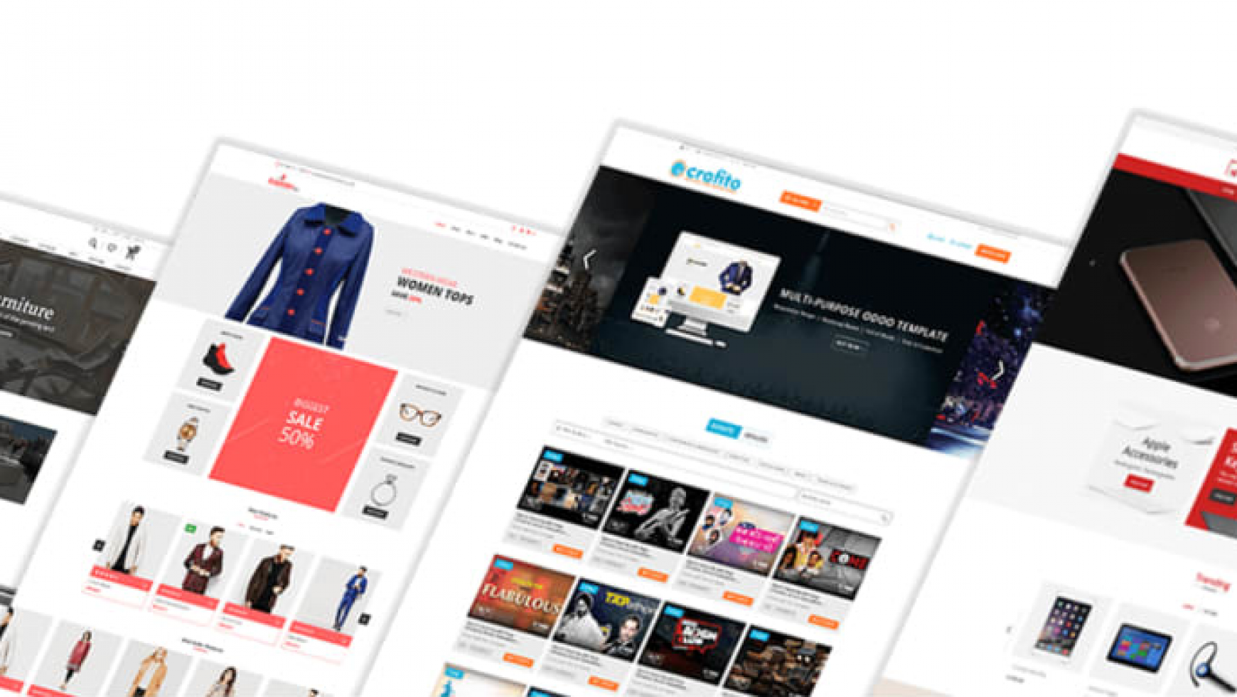 The Top 5 Odoo E-commerce Themes For 2019